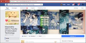 Facebook - Fakultas Teknologi Informasi Maranatha