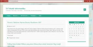Web Sistem Informasi Maranatha